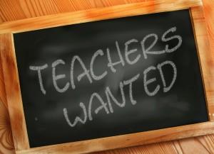 teachers wanted board-106588_1280